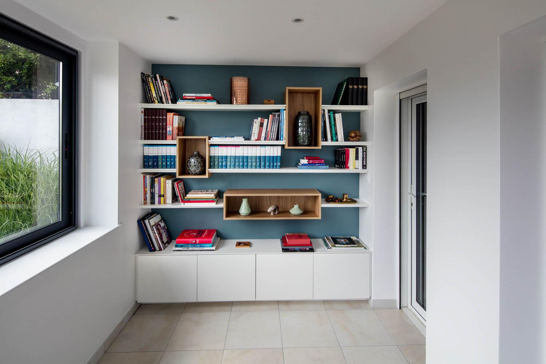 Bibliothèque design et sur-mesure - La Compagnie des Ateliers %