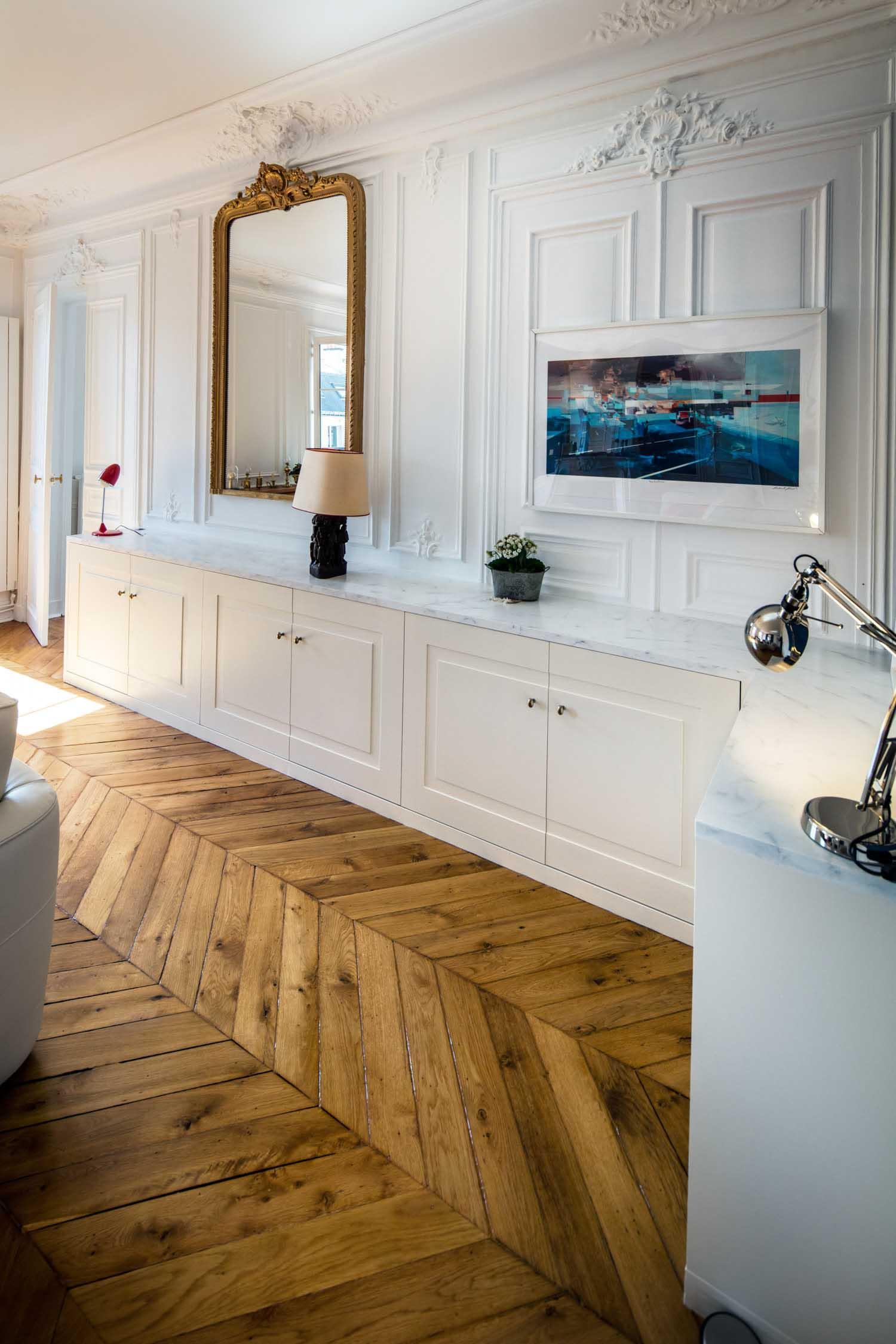 Amenager Un Placard Existant meuble bas sur-mesure design -compagnie des ateliers