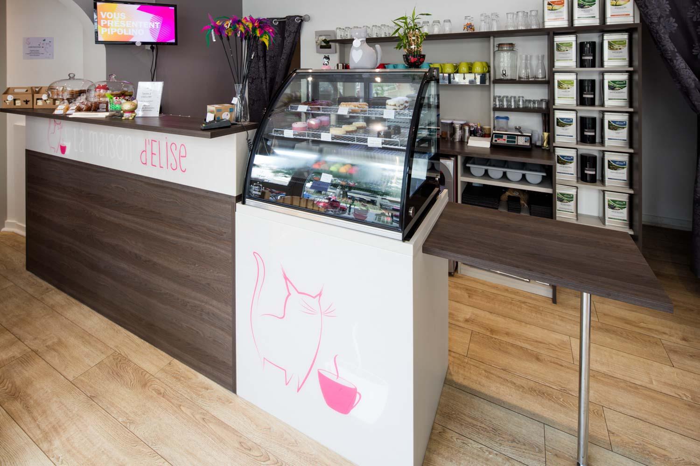 Amenagement De Bar Professionnel boutique snacking, agencement sur mesure - compagnie des