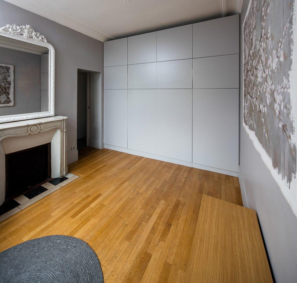 Armoire Murale Pour Chambre lit rabattable & placards aménagés sur-mesure - compagnie