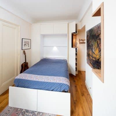lit escamotable, lit rabattable, armoire lit, lit mural