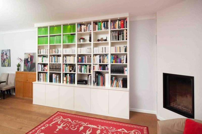 Bibliothèque linéaire et design