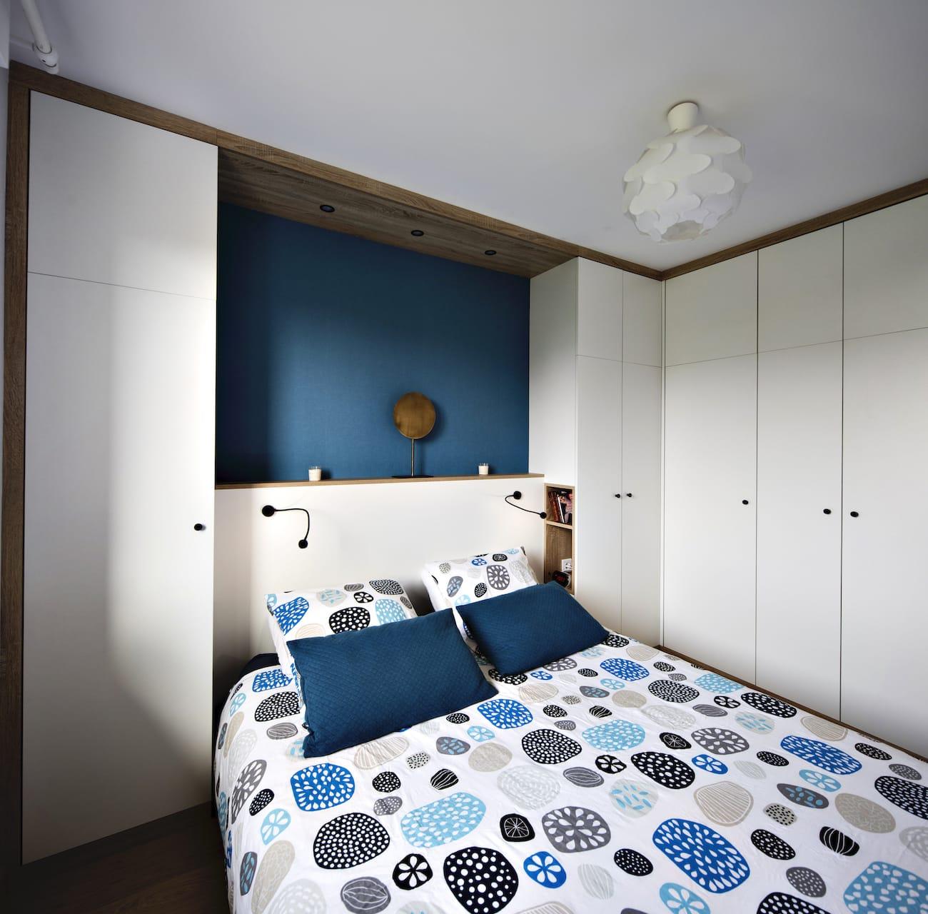 chambre avec placards et dressing sur-mesure