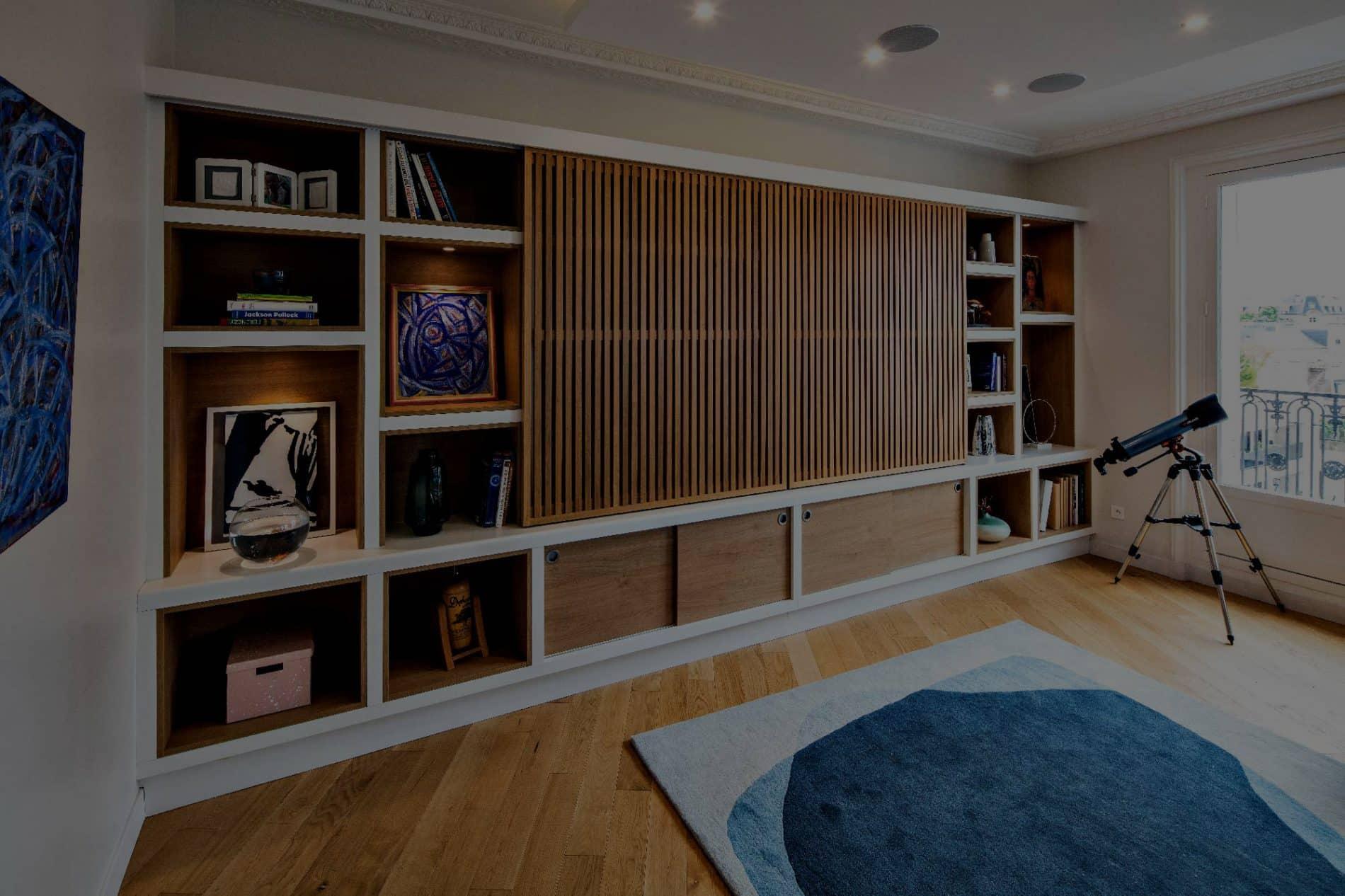 Dressing Sur Mesure Paris design d'intérieur et mobilier sur mesure - compagnie des